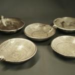 白釉小皿の画像